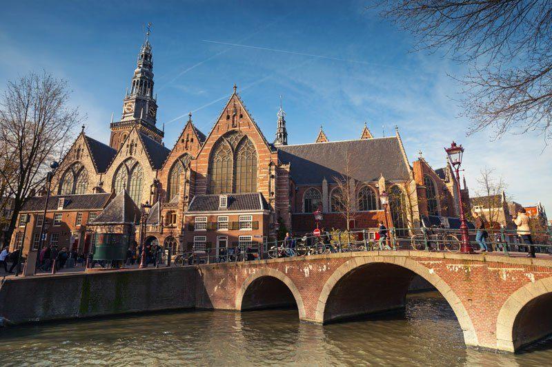 A catedral de Oude Kerk