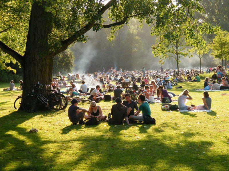 O Vondelpark: ponto de encontro relax em Amsterdam