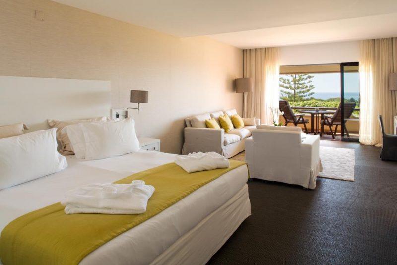 Melhores hoteis no Algarve: Quartos amplos para família do Vilalara Thalassa.