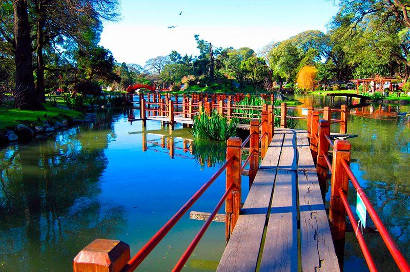 O Jardim Japonês de Buenos Aires
