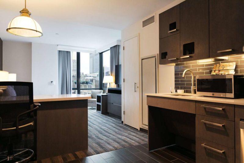 Hoteis no Chelsea, Nova Iorque: quarto com cozinha, uma boa para familias