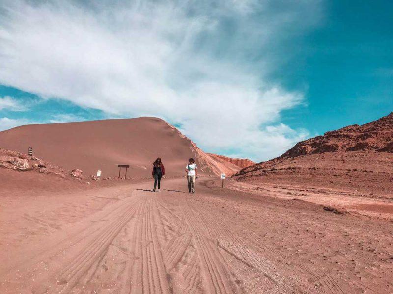 Vale da lua Atacama