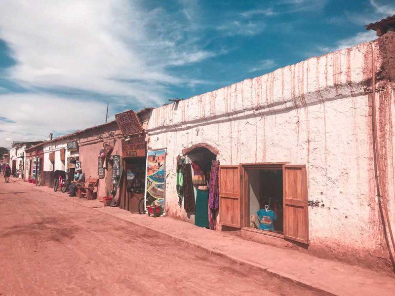 vila de San Pedro do Atacama