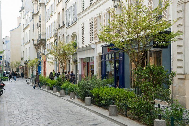 Lugares diferentes em Paris