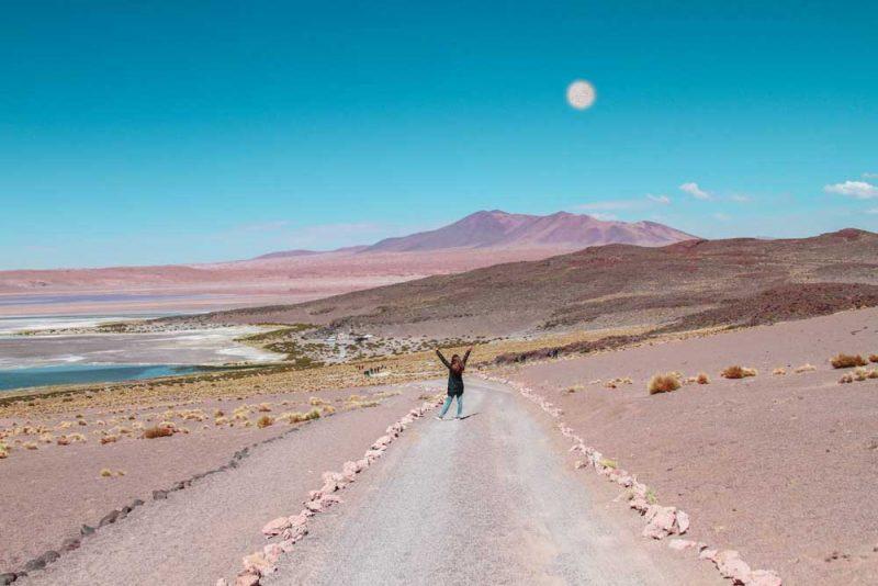 O visual do Salar de Tara, um dos passeios de alta altitude no Atacama