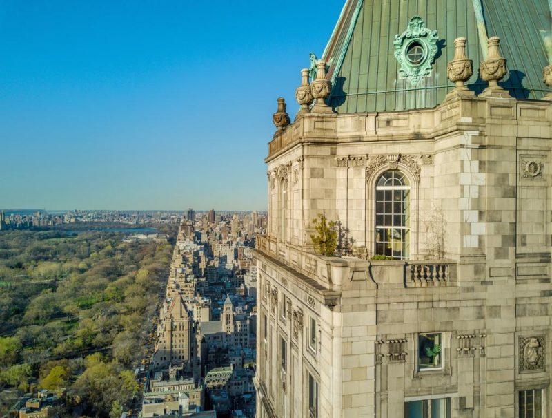 melhores hoteis de NY: a localização no Central Park do The Pierre