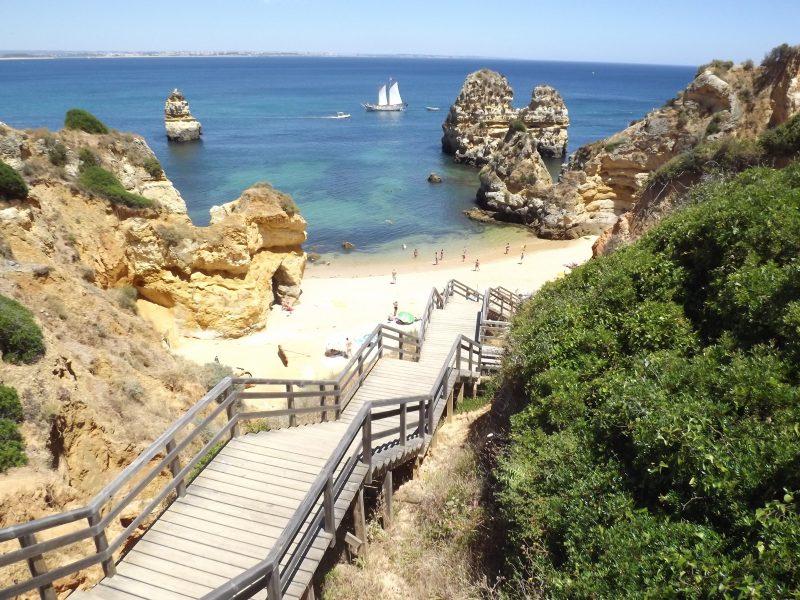 Praias do sul de Portugal