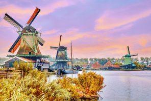 7 cidades perto de Amsterdam para fazer bate-volta