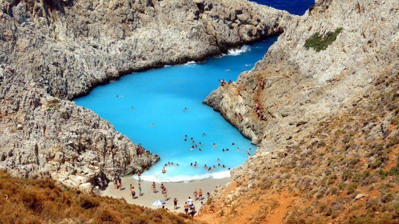 Praias de Creta: Stefanou