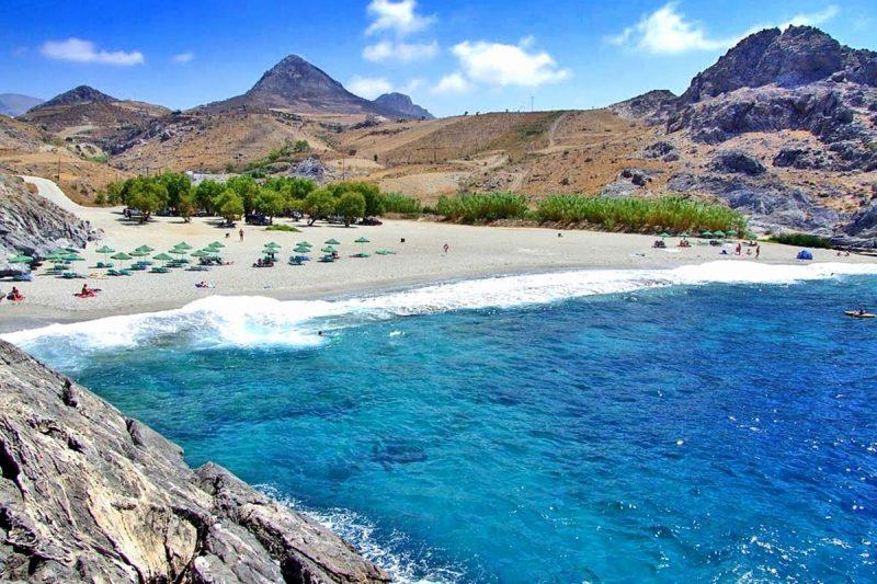 O que fazer em Creta: Ammoudi Beach