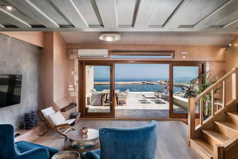 Melhores hoteis em Creta: o Residente Vranas