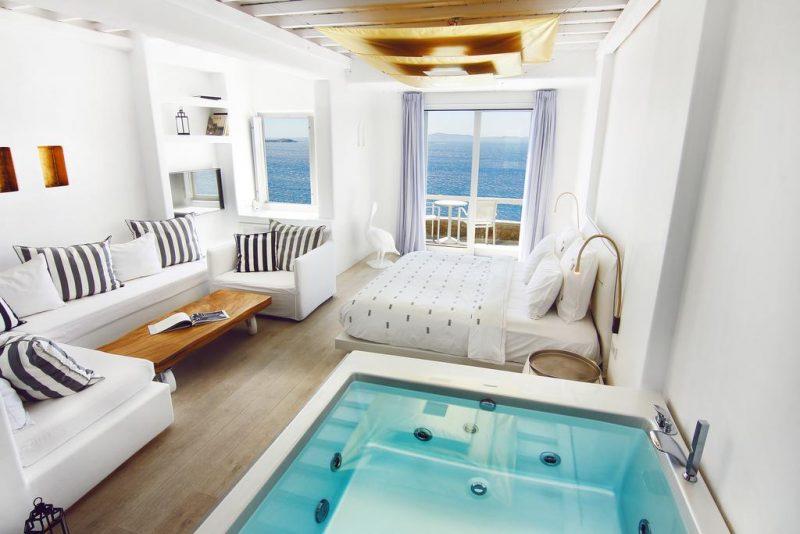 dicas de hotéis em Mykonos