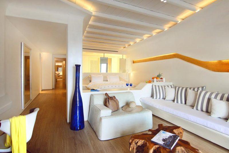 os melhores hotéis em Mykonos