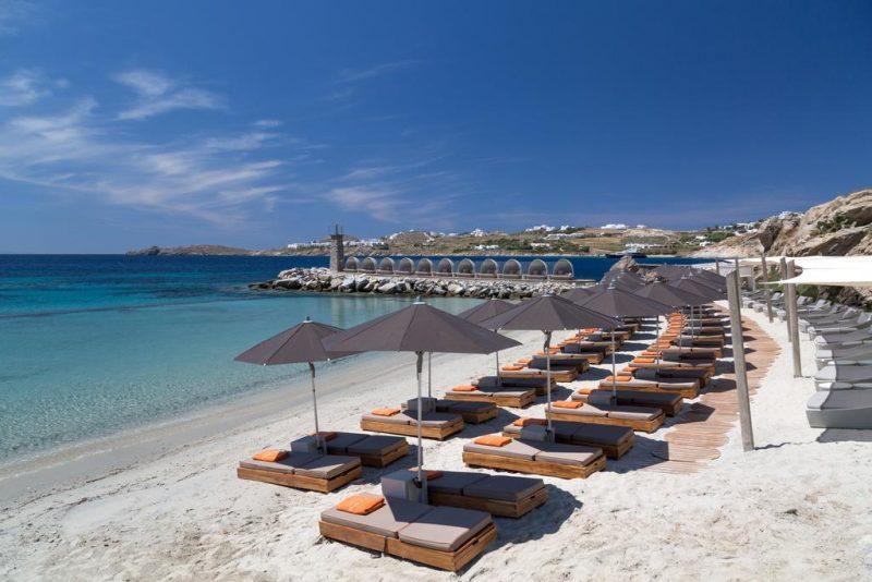 Os 10 melhores hotéis em Mykonos