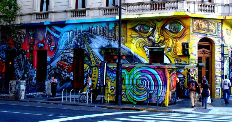 O que fazer em Buenos Aires: programas diferentes. Faça um tour e um workshop de grafite