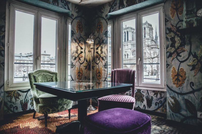 Onde se hospedar em Paris: Hotel Le Notre Dame Saint Michel com vista para a Notre Dame.