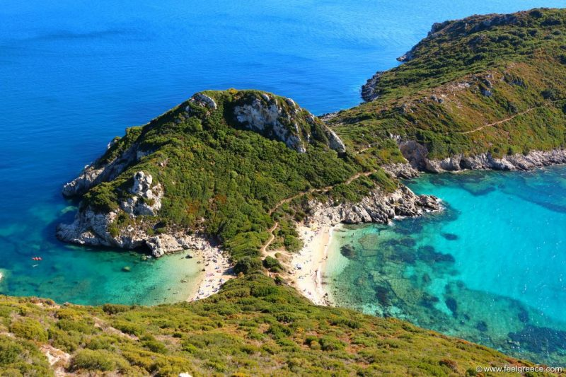 Praias mais lindas de Corfu: Timoni