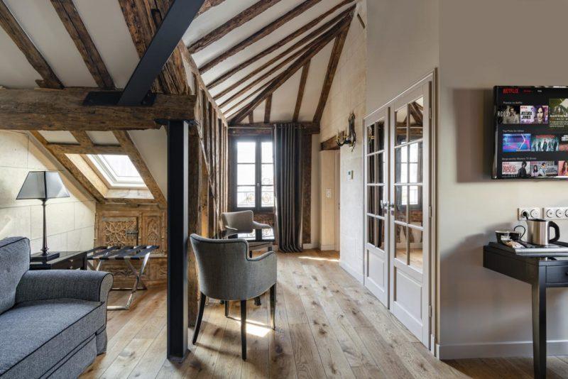 Hotéis Paris: Acomodações do Hôtel Le Presbytère com até dois quartos.
