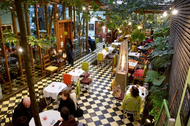 O charme do Café Candelaria