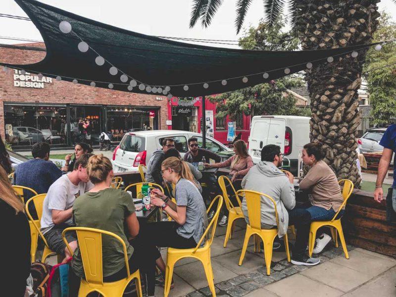 roteiro de 3 dias em santiago: Barrio Italia