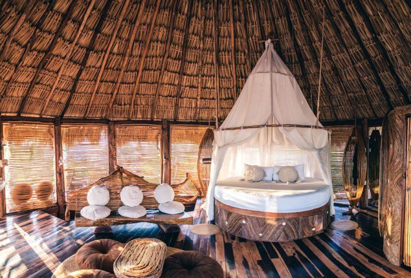 Melhores hoteis do Caribe: o quarto do Azulik Tulum