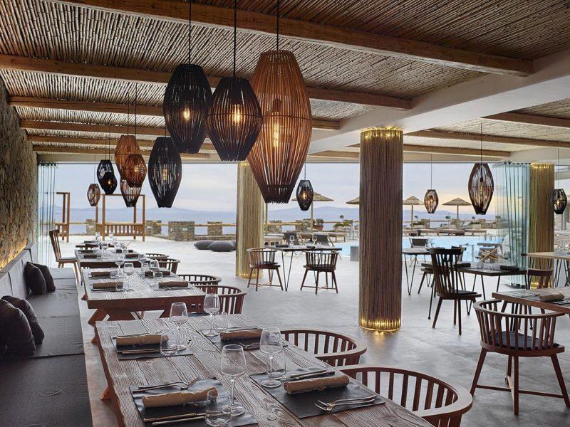 onde comer na ilha de Mykonos