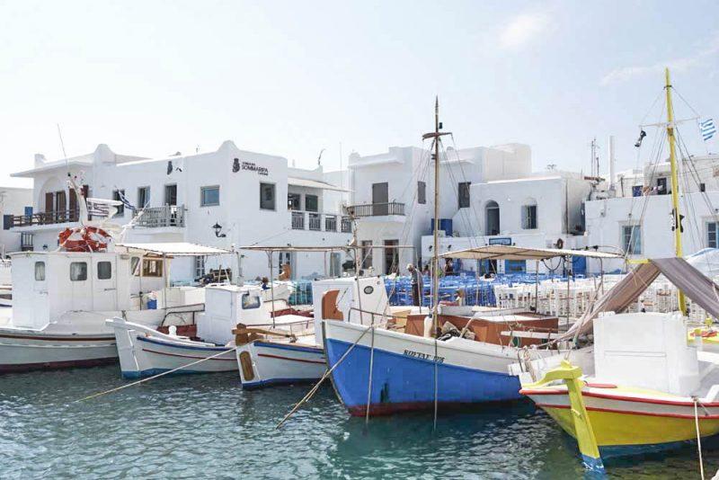 Roteiro Ilhas Gregas Naoussa paros