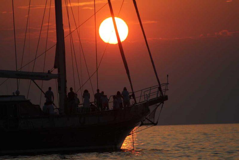 passeio de barco Mykonos