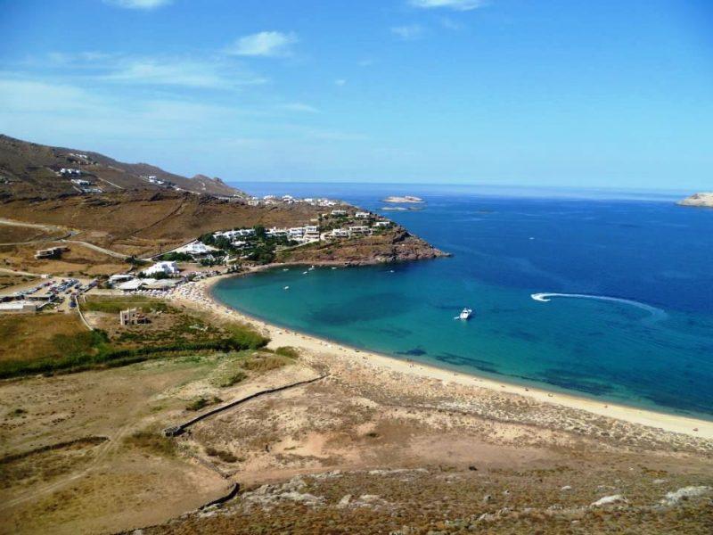 as praias mais lindas de Mykonos