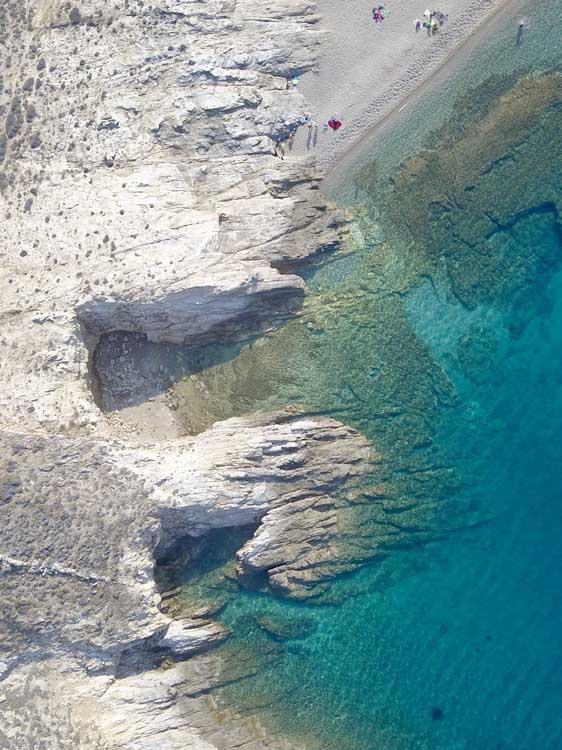 Fokos: praias mais selvagens de Mykonos