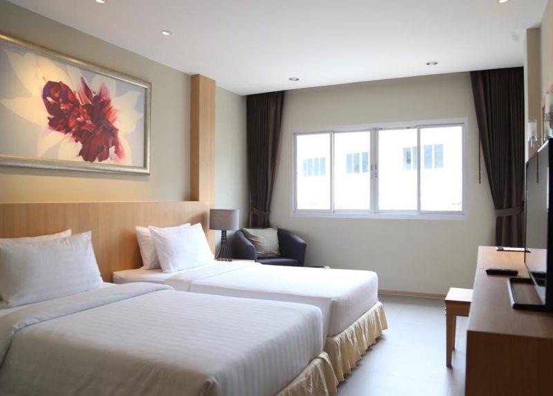 hoteis baratos em Ko Phi Phi: o quarto do PP Charlie