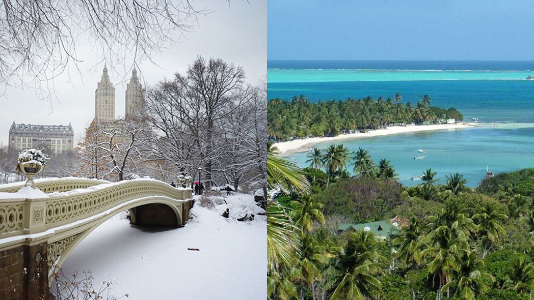 para onde viajar em janeiro