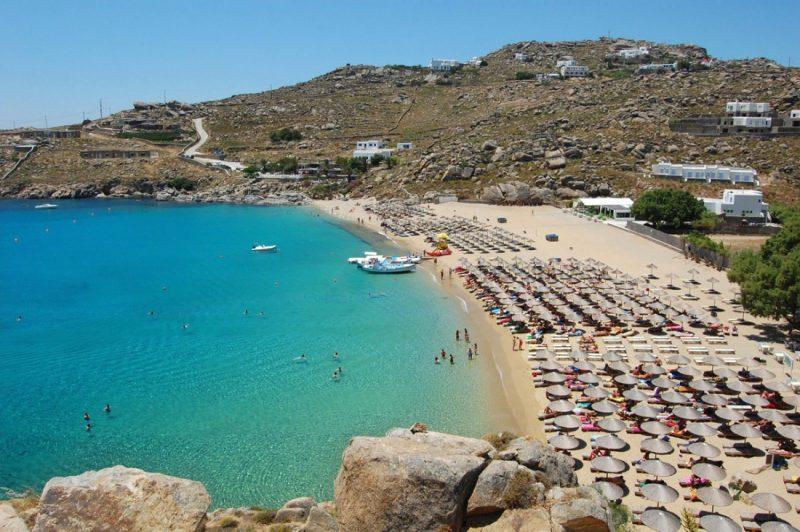 praia super paradise mykonos
