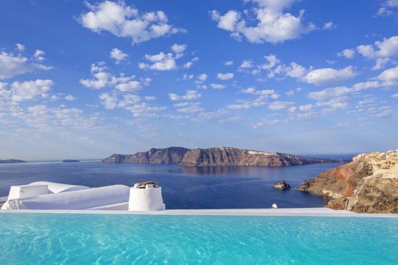 Melhores hoteis de Santorini: o Katikies