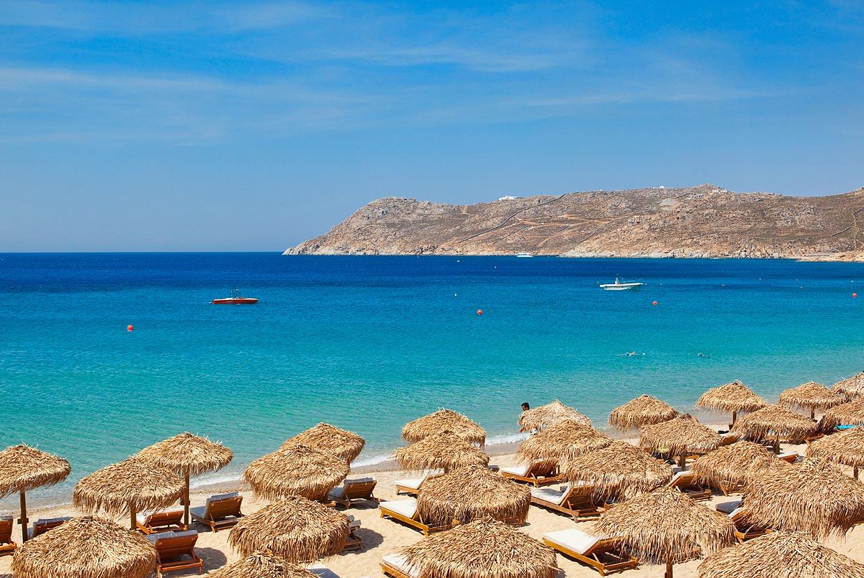 Praias de Mykonos: um guia com as 23 mais lindas da ilha