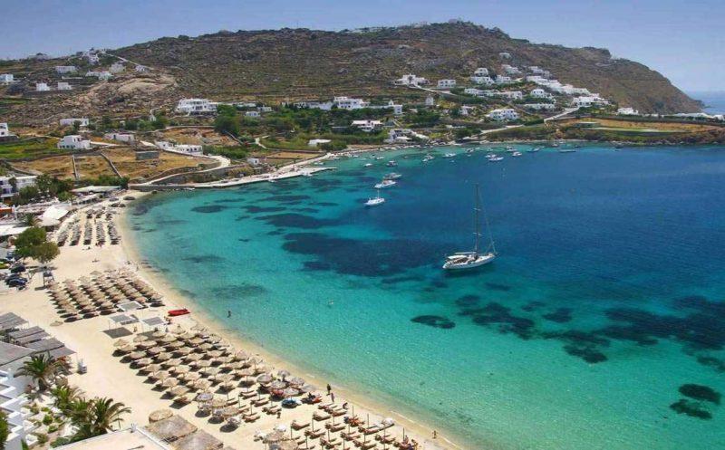 as praias mais bonitas de Mykonos