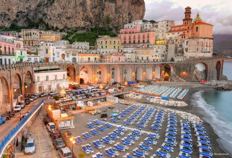 Roteiro Costa Amalfitana: a pequena cidade de Atrani, entre Positano e Amalfi