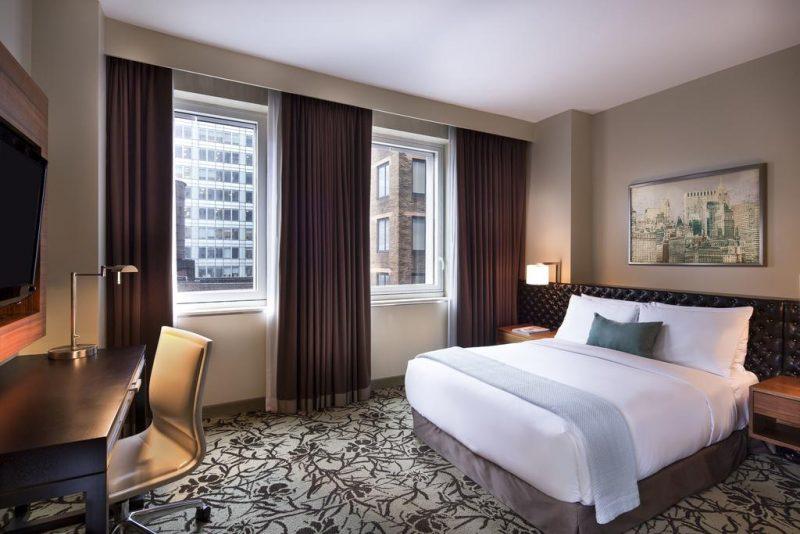 Onde ficar em NY: o hotel Cassa tem academia, restaurante e quartos confortáveis