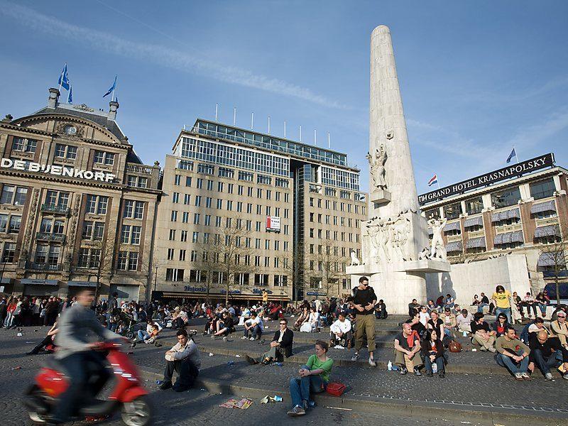 O que fazer em Amsterdã: a Dam Square