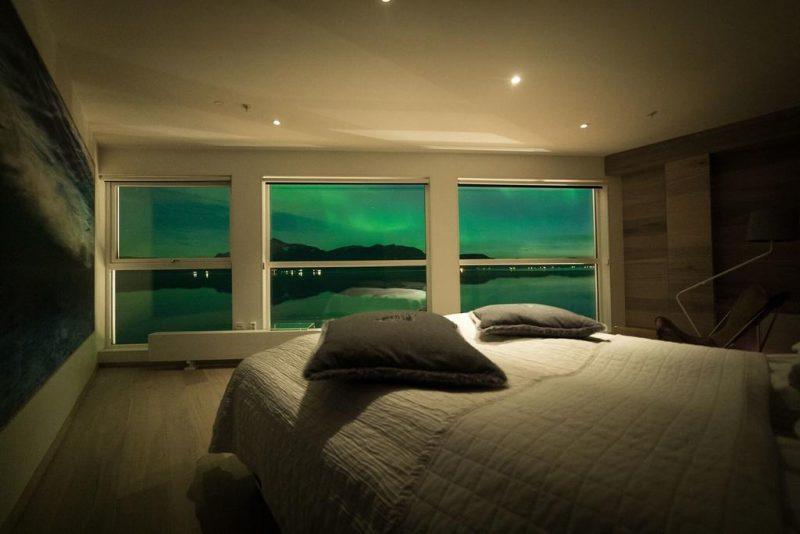 hotéis para ver a aurora boreal