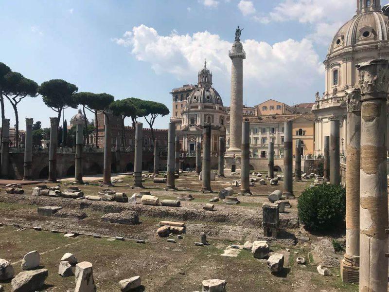 Roma Roteiro: O Foro Romano e sua área gigantesca de ruínas