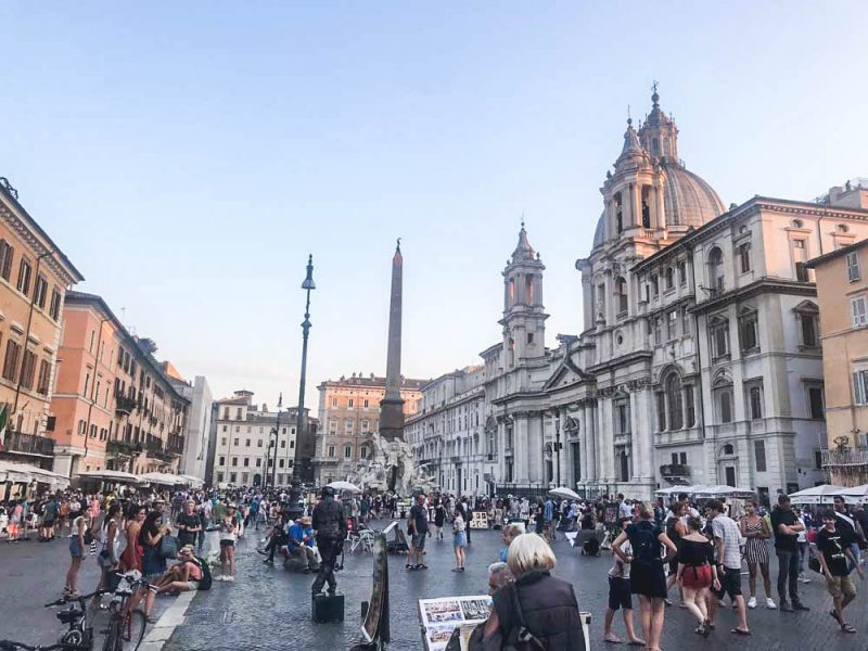 Roteiro Roma 3 dias: a piazza Navonna