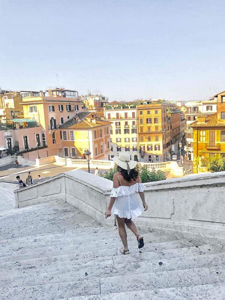 Dicas de Roma: a escadaria da Piazza di Spagna