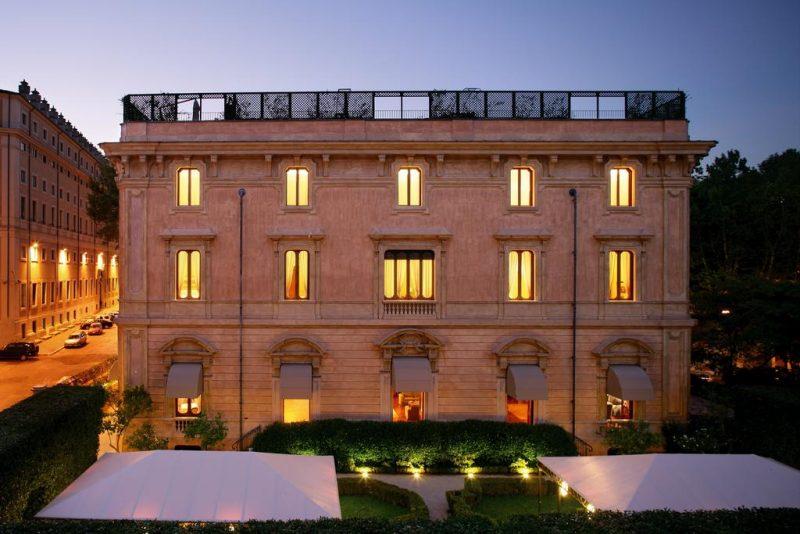 Hoteis de luxo em Roma: