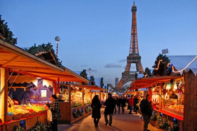 feiras de natal em Paris