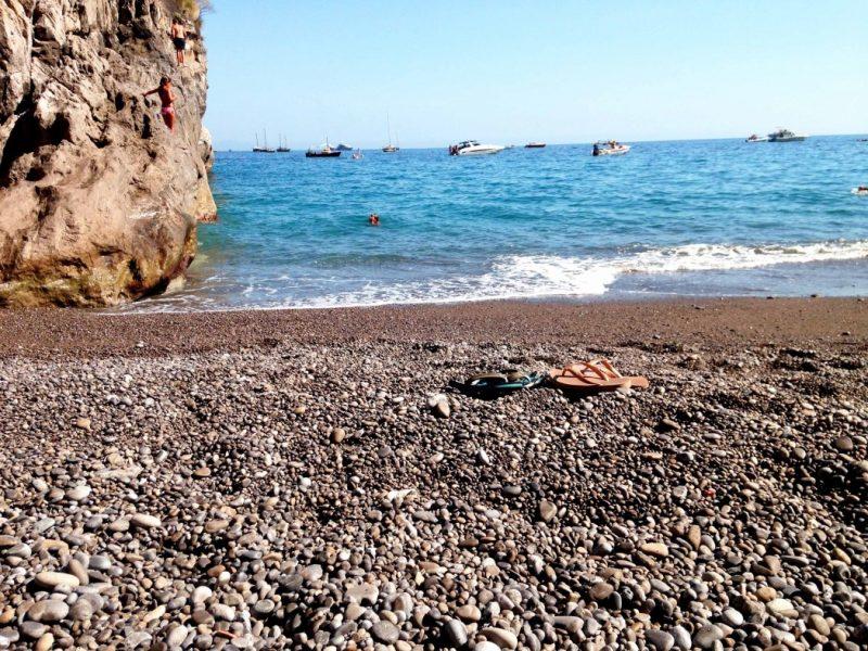 O que fazer em Positano: A praia La Porta