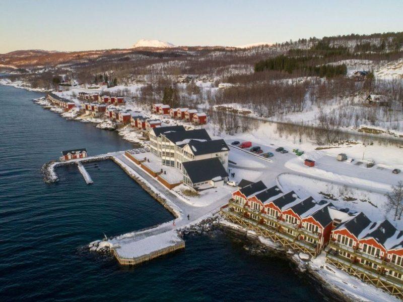 Melhores hoteis na noruega para ver a aurora: O Malangen