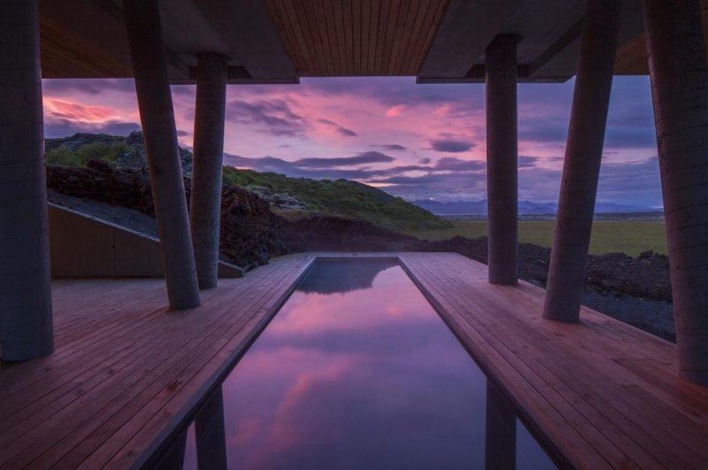 hoteis aurora boreal: Pros mais corajosos, o ION tem até piscina aquecida