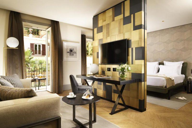 Onde ficar em Roma: o quarto moderninho do Margutta 19