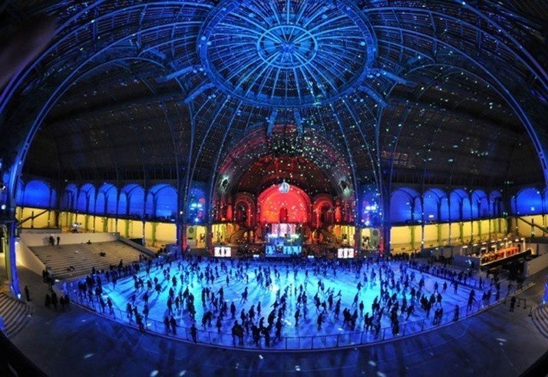 Paris no Inverno: a pista de patinação no gelo do Grand Palais de Glace